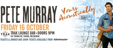 Pete Murray - Yours Acoustically