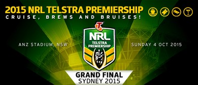 NRL Grand Final 'Rock the Yacht' Pre-Match Cruise
