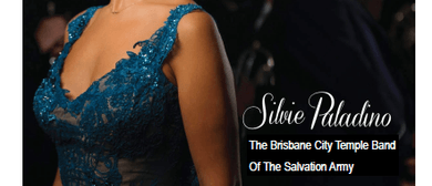 Silvie Paladino supported by Brisbane City Temple Band
