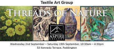 Threads of Nature Exhibition by Textile Art Group