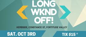 Long Wknd Off!