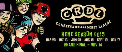 Canberra Roller Derby League 2015 Home Season