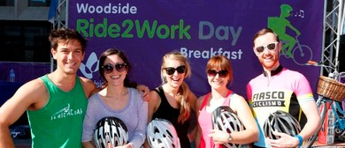 Woodside Ride2Work Day Breakfast