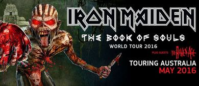 Iron Maiden - The Book Of Souls World Tour 2016
