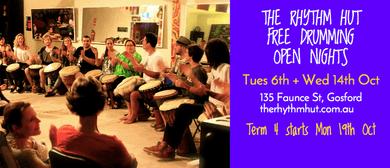 Free Drumming Open Nights