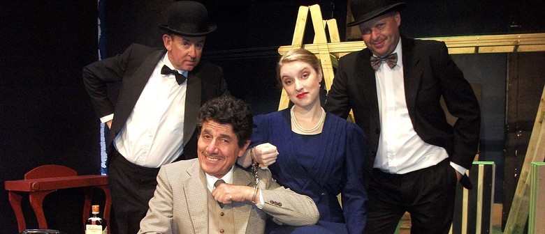 Hitchcock Meets Hilarious In The 39 Steps