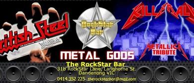 Metal Gods - British Steel & Kill 'em All