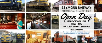 Seymour Railway Heritage Centre Open Day
