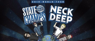 Neck Deep And State Champs Summer Tour 2016