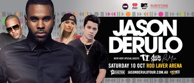 Jason Derulo Australian Tour and Supporting All Star Line-Up