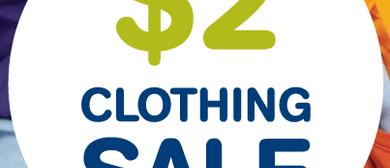 Lifeline Gold Coast $2 Clothing Sale