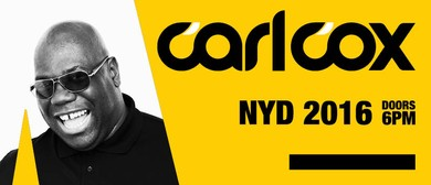 Carl Cox to Play New Year's Day