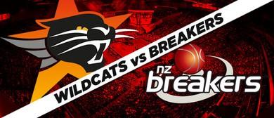 Perth Wildcats v New Zealand Breakers