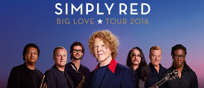 Simply Red - Big Love Tour 2016 With Natalie Imbruglia