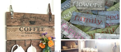 Farmhouse Sign-Making Workshop