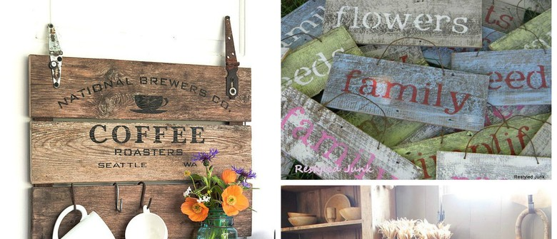 Farmhouse Sign-Making Workshop
