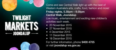 2015 Joondalup Twilight Markets