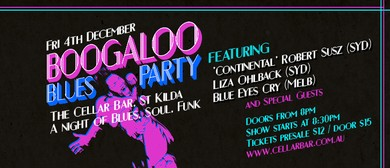 Boogaloo Blues Party - A Night Of Blues, Soul, Funk & RnB