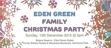 Eden Green Family Christmas Party