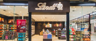 Lindt Chocolate Shop Adelaide Opening