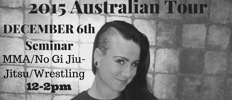 UFC Fighter Ashlee Evans-Smith MMA Seminar - Australian Tour