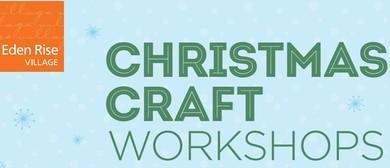 Free Christmas Craft Workshops