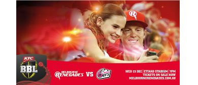 KFC Big Bash League – Melbourne Renegades Vs Sydney Sixers