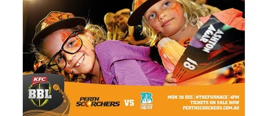 KFC Big Bash League – Perth Scorchers Vs Brisbane Heat