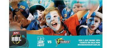 KFC Big Bash League – Brisbane Heat Vs Sydney Thunder