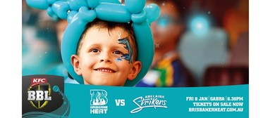 KFC Big Bash League – Brisbane Heat Vs Adelaide Strikers