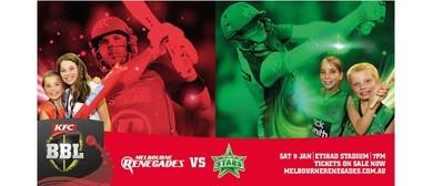 KFC Big Bash League – Melbourne Renegades Vs Melbourne Stars