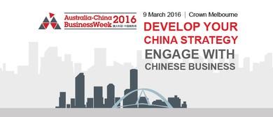 Australia-China Business Week 2016