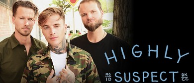 Highly Suspect Australian Tour 2016