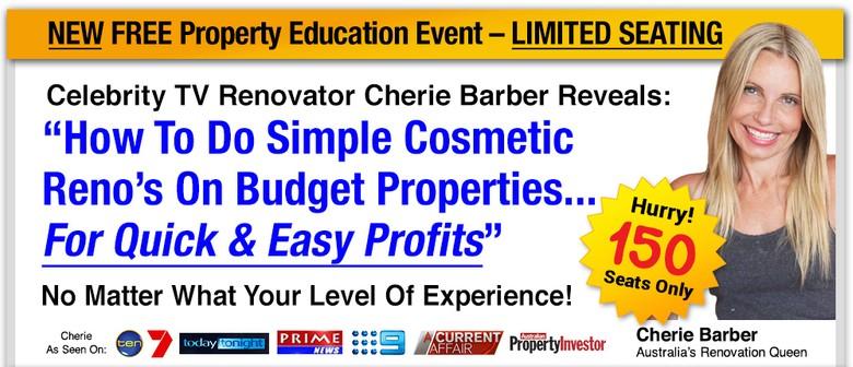 Famed TV Renovator Cherie Barber