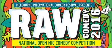 RAW Comedy 2016 - Brisbane Heat