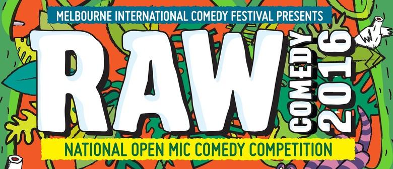 RAW Comedy 2016 - Perth Heats