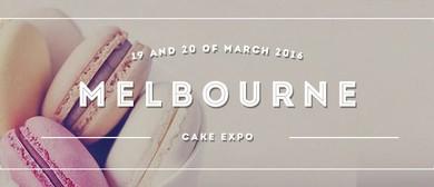 Melbourne Cake Expo 2016