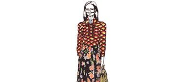 Mode: Fashion Illustration By Johanna Dziadkiewicz