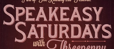 Speakeasy Saturdays With Threepenny Moon: Roaring 20s Fest