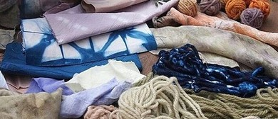 Natural Fabric Dyeing & Shibori Workshop On The Merri Creek