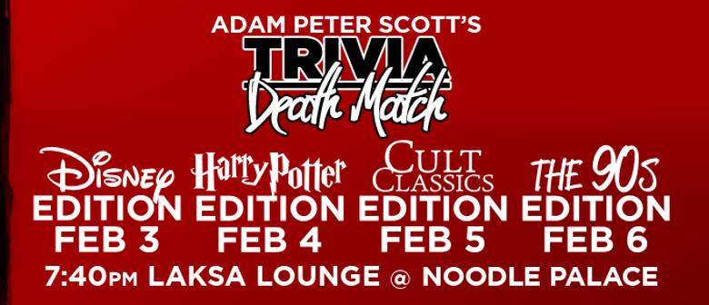 Fringe World 2016 - Adam Peter Scott's Trivia Death Match