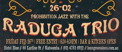 Prohibition Jazz With The Raduga Trio: Roaring 20s Festival