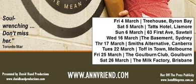 Ann Vriend - Those Records Tour