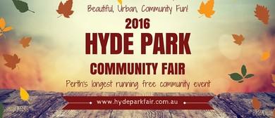 2016 Hyde Park Community Fair
