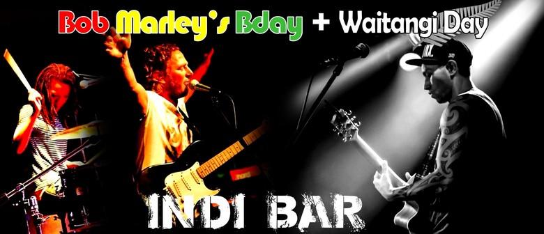 Bob Marley's Waitangi Day Birthday Bash