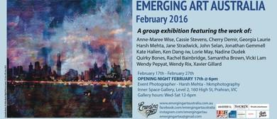 Emerging Art Australia - February 2016 Group Show