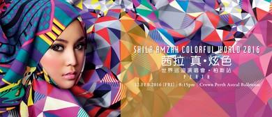 Shila Amzah Colorful World 2016 - Perth