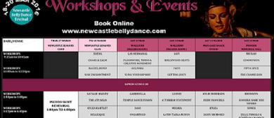 Bellydance Festival Friday Dance Workshops