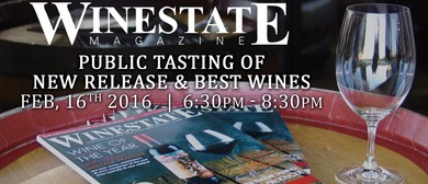 Winestate Magazine Public Tasting of New Release & Best Wine