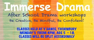Immerse Drama After School Classes